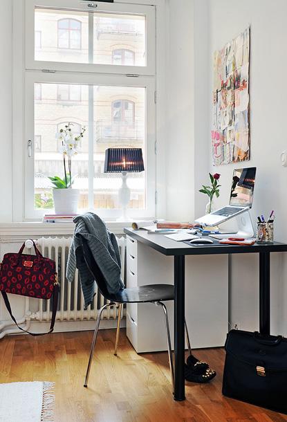 65平时尚现代白领公寓设计 组图