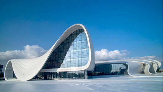 zahahadid流线型建筑:heydaraliyev文化中心(工资)南宁市建筑设计院组图是多少图片
