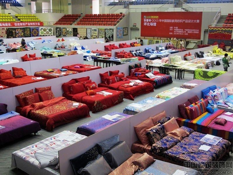 华夏织物,闪耀国际家纺产品设计大赛