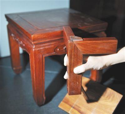 榫卯结构是中国古典家具的精华.
