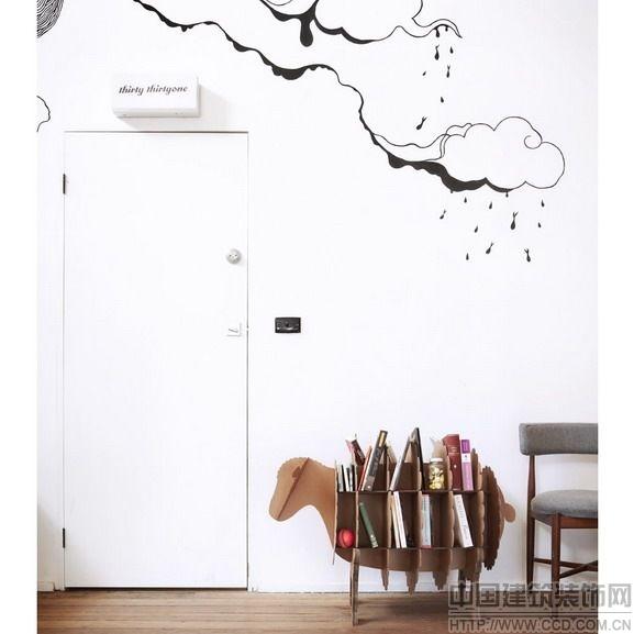 国外富有创意的可回收硬纸板家具