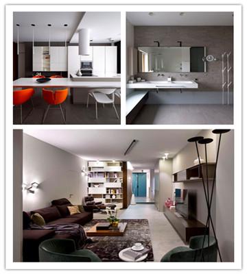 乌克兰活力时尚的现代公寓设计