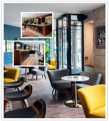 巴黎hotel andre latin酒店设计(组图)