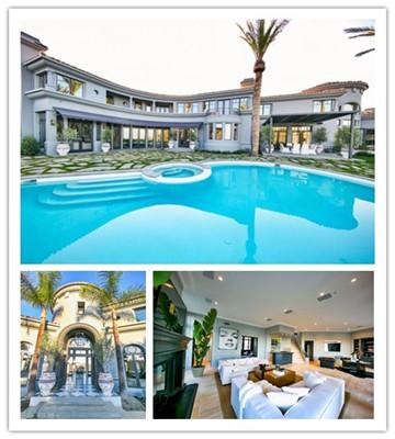 洛杉矶现代法式豪华别墅
