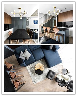 立陶宛现代舒适和豪华复式住宅设计