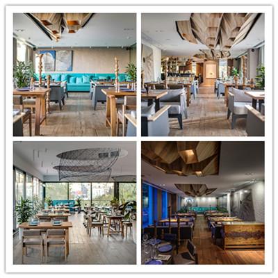 基辅BARVY现代餐厅空间设计
