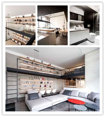 现代简约Loft住宅设计(组图)