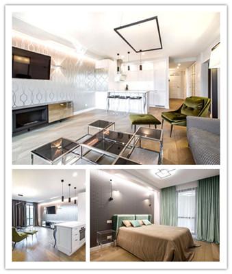 Vilnius时尚新潮的现代公寓设计