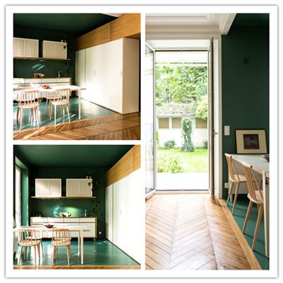 巴黎现代别致的公寓设计