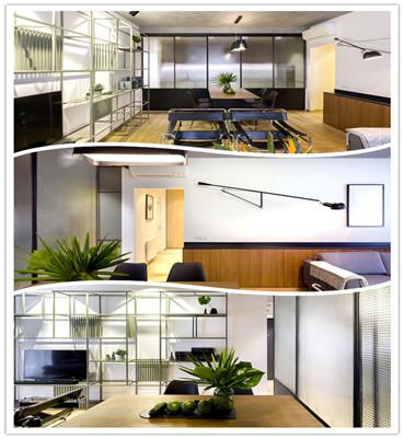 工业风格的现代公寓设计