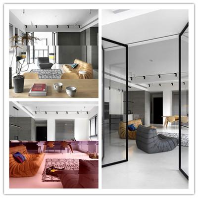 台湾新竹极简优雅的现代公寓设计)