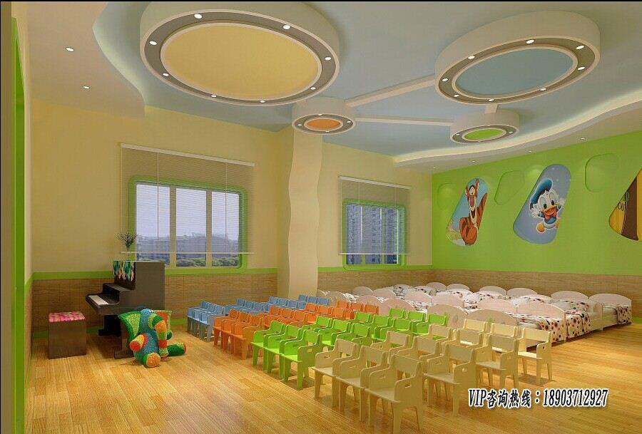 为了反映幼儿园生动,活泼,可爱,有趣的特点,门厅的装饰须透出其文化