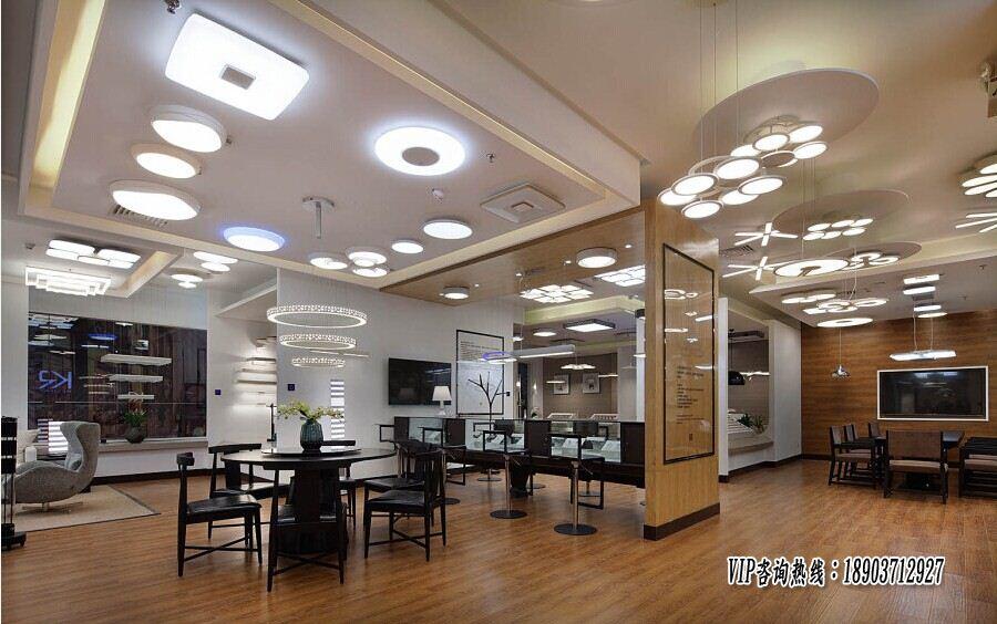郑州led照明灯具展厅设计