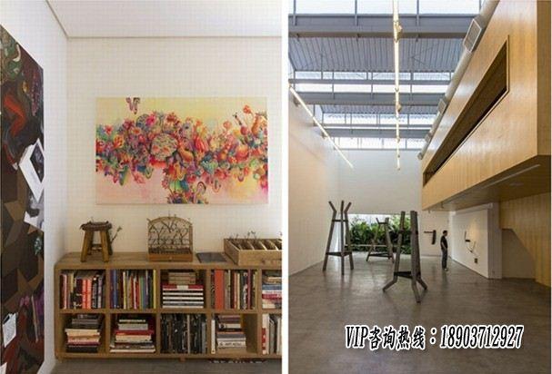 郑州画廊装修设计 画廊设计效果图