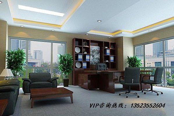 郑州老板办公室背景墙设计