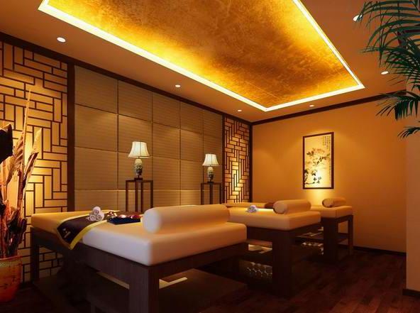 郑州美容院中式装修风格赏析图片