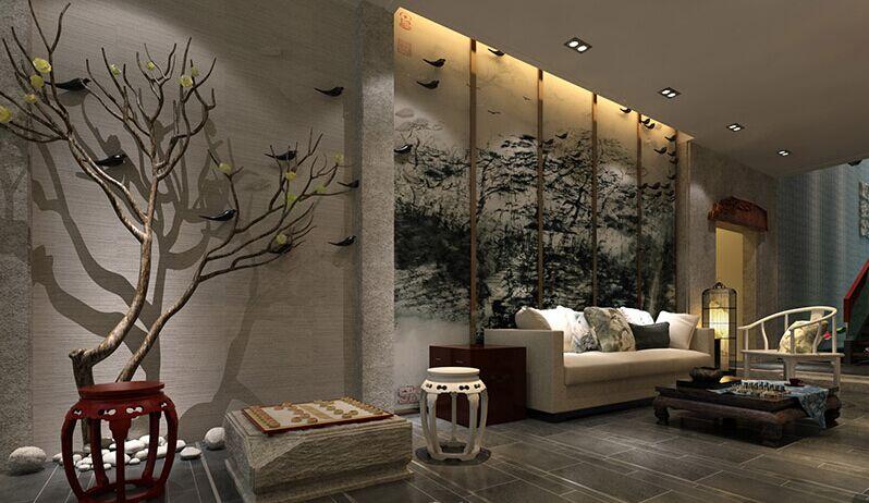 郑州新中式酒店大堂设计方案图片