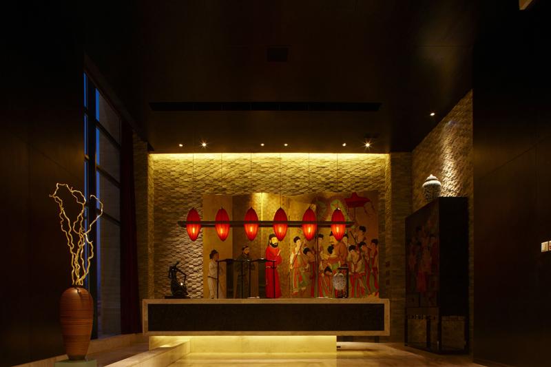 郑州中式餐厅效果图展示图片