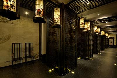 郑州中式茶馆装修效果图高清图片