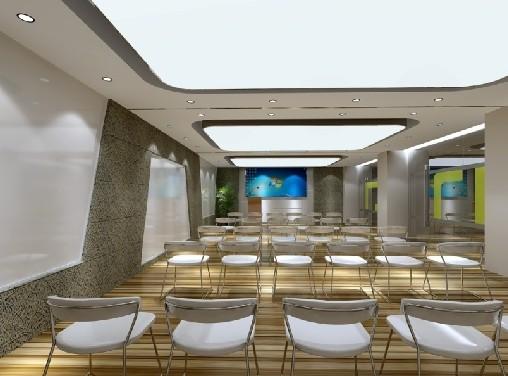 郑州办公楼会议室装修设计效果图