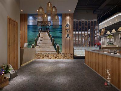 南丫岛海鲜自助餐厅装修设计