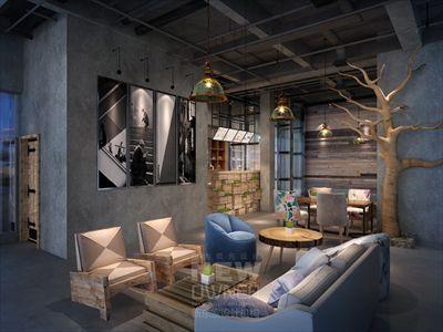雅安石棉酒店+茶咖厅设计