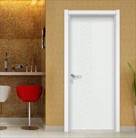 豪迈工艺时尚烤漆门纯色室内环保木门卧室门