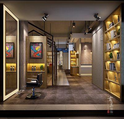 卡霓造型理发店设计|专业美发店设计公司