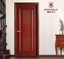 豪迈F8008复合压线烤漆门现代室内房间门
