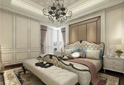 家庭装修140平家庭住宅欧式风格装修案例图片