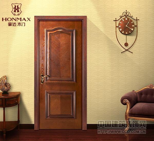 豪迈木门MTA003精工室内实木门高档现代居室门