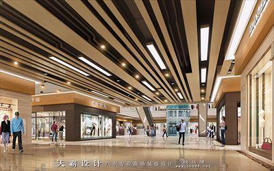 商场装修效果图多样化创意设计方案分享-天霸设计