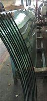 河南超大超宽超长19毫米镀膜热弯钢化玻璃