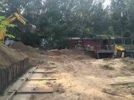 地下室扩建挖土方,顶部防水