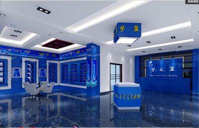 深圳布吉手機店鋪裝修設計!