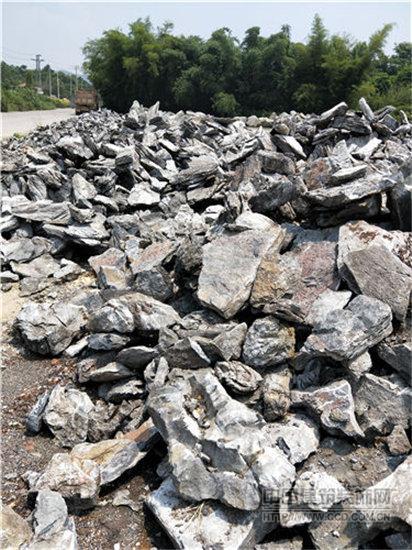 广东英石之乡 英石造景假山工程 英德石园林石