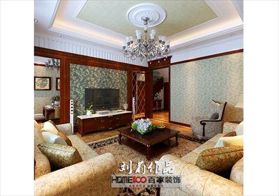 碧桂园200平复式阁楼美式风格半包12万