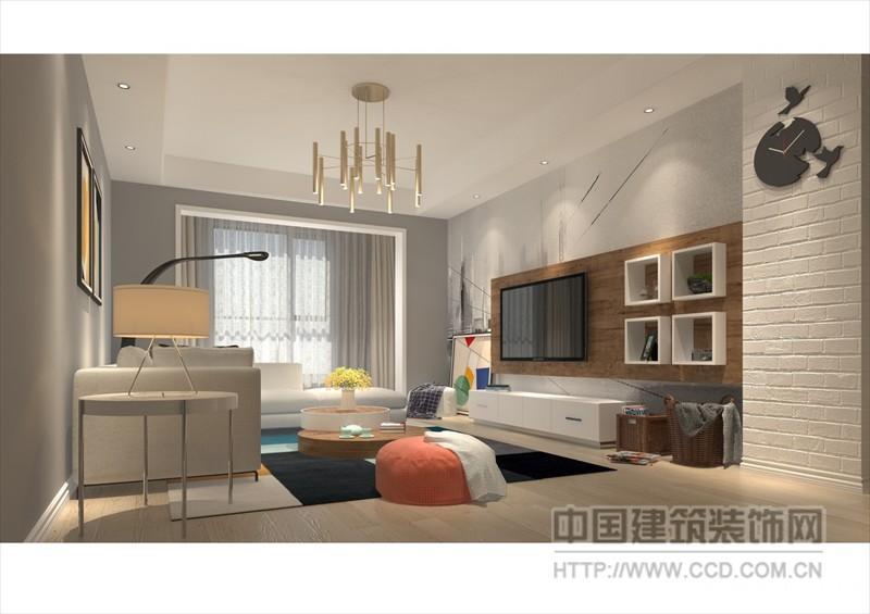 整屋除厨,卫空间外均为浅色木地板,相对于地砖来说,木地板的质感更加