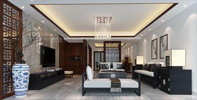 万海公寓现代中式