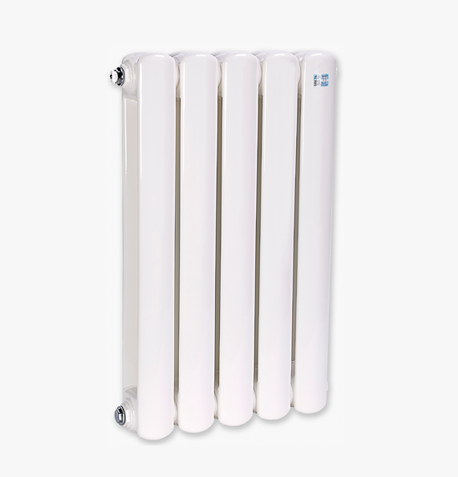 钢制扁管二柱散热器