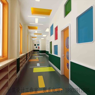 石家莊幼兒園裝修設計-2