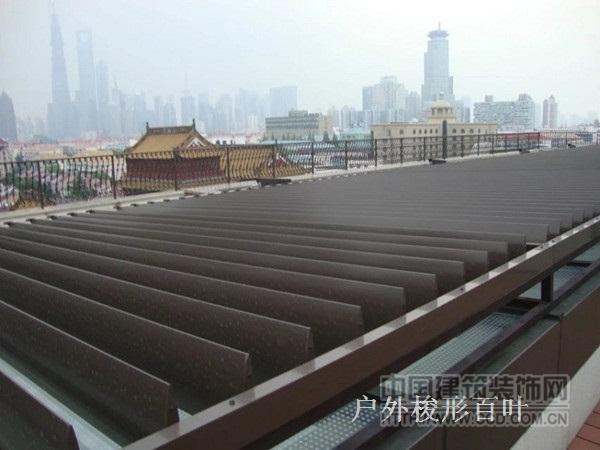 上海户外电动百叶