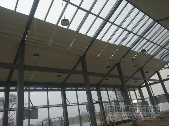 阳光房折叠式天棚帘