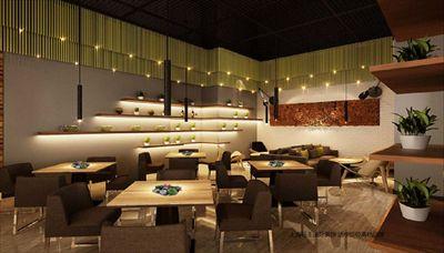 上海餐饮装修十大品公司提供最新咖啡厅装修