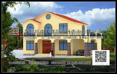 2017年部分新农村别墅自建房设计作品