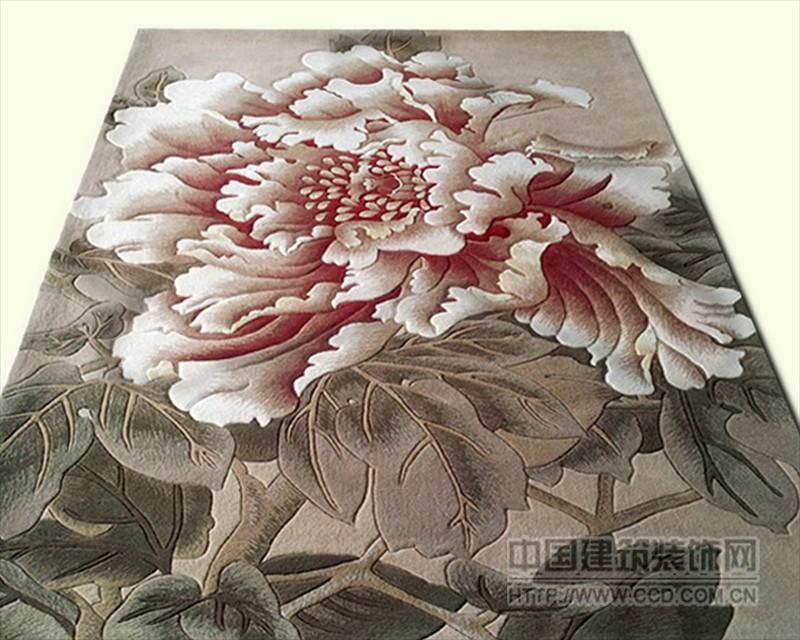 纯手工定制地毯 图案自由选择 规格大小随意