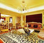 市区高档住宅家装地毯搭配
