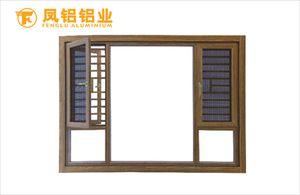 南昌别墅门窗品牌 凤铝断桥窗纱一体系列定制