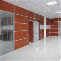 办公会议室钢化玻璃百叶隔断墙
