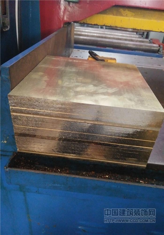 国标H59雕刻黄铜板 H65黄铜板 精密黄铜板